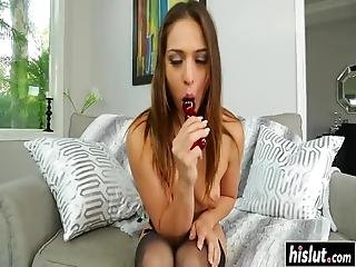 Only One Thing Pleases Sara Luvv, And That Is Getting Her Butt Fucked