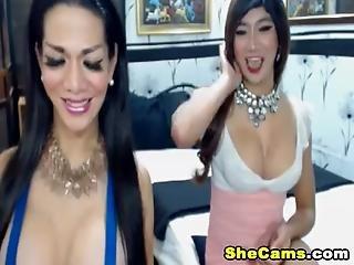 Sexet kjole blowjob