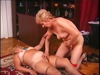Girls Have Fun Lesbo Hungarian Grandmas Marika And Chloe