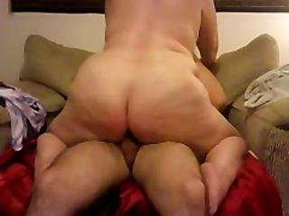 Chubby Mile Rides Cock And Gets Fucked Doggy Style