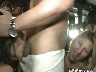 At The Strip Club Many Sluts Fucking Stripper Dick