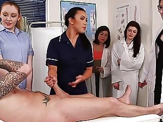 Educational Medical Examination Handjob Cfnm