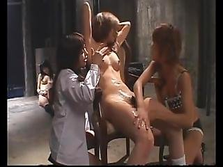 Naughty Asian Femdom In A Dungeon
