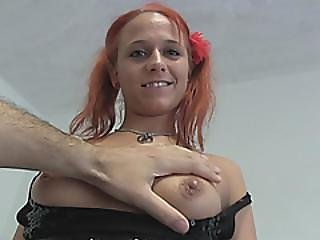 Redhead Chick Gets Her Asshole Fucked Hard