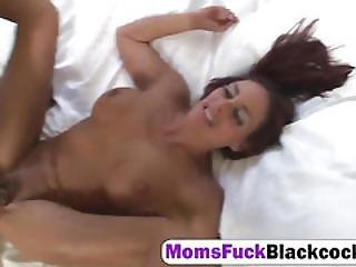 Busty Mom Cheyenne Hunter Cums After Getting Her Interracial Fantasy Brought To Life