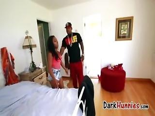 Black-porn Bombshell Hardcore With Her Boyfriend