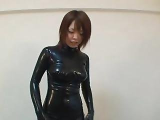 Asian, Catsuit, Japanese, Latex