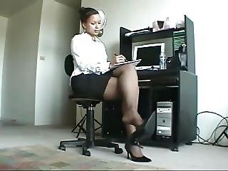 Beautiful, Black, Ebony, Fetish, Foot, Legs