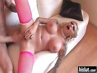 Vyxen Steel Showed Off Her Big Tits