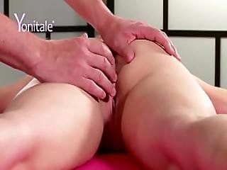 Yonitale Orgasmic Massage With Sexy Blonde Izzy Delphine. P1
