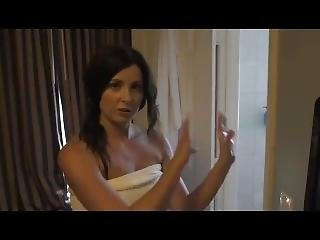 Helena Price - Mom Showers With Son