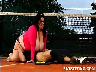 Heavy Weight Bbw Face Smothering With Cock Punishment