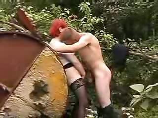 Plump Big Beauty Girl Throating Homeless Dude Dong