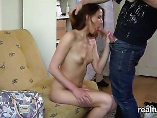 Enchanting Czech Chick Gets Tempted In The Supermarket And Drilled In Pov