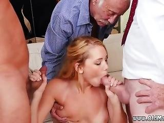 Old Guy Cums Inside Hot Used By Men