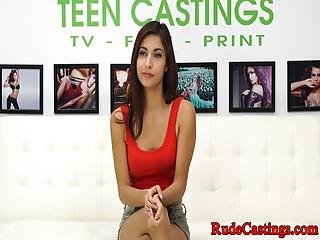 Real Young Beauty Rough Fucked At Bdsm Casting