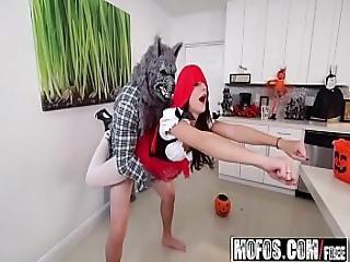 Kharlie Stone - Brunette Spinner Fucks On Halloween - Dont Break Me