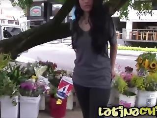 Carne De Mercado - Colombian Teen Karen Gets A Hard Fuck And Facial