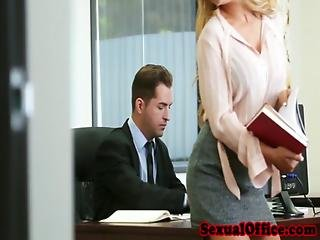 Babe, Banging, Blowjob, Boss, Busty, Closeup, Doggystyle, Fingering, Glasses, Heels, Office, Oral, Pierced, Pussy, Secretary, Table Fuck, Teasing