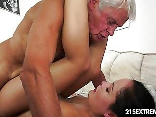 Blowjob, Cream, Creampie, Grandpa, Hungarian, Kinky, Teen, Young