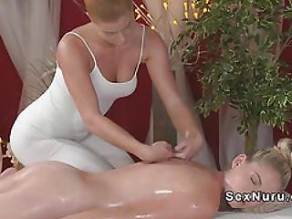 Babe, Blonde, European, Fingering, Lesbian, Massage, Oiled, Oral, Orgasm, Pussy, Sexy