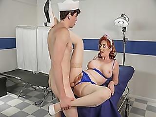 Alex D Drilling Lauren Phillips Hairy Pussy