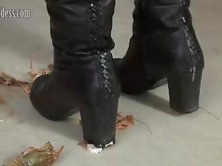 Diana Heel Boots