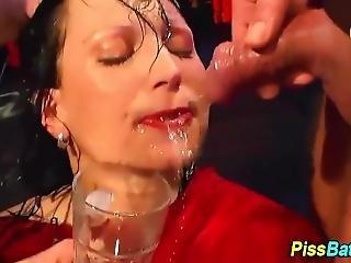 Piss Wam Ho Drinks Urine