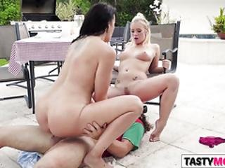 Picnic With Gf Bailey Brooke And Mom Reagan Foxx