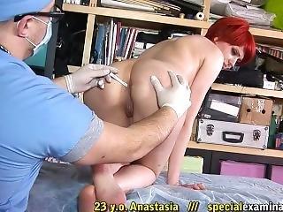 Medical Exam Anastasia