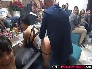 Czeszka, Seks Grupowy, Impreza, Kobiecy Wytrysk, Swingerzy