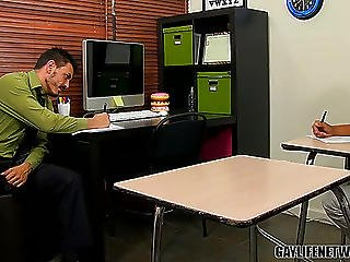 Teacher Collin Tempted! - Collin Stone And Robbie Anthony