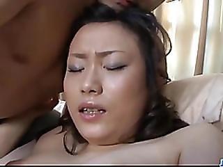 Ravishing Threesome Experience For Nasty Hitomi Aizawa