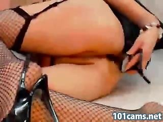 Gilf Free  Prurient Blonde Gladly Amused Her Delicious Ass With Heel