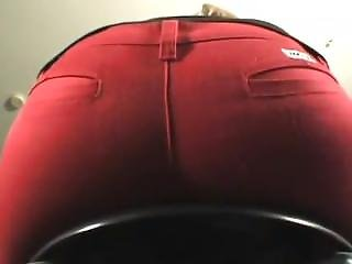 Holly Farting In Red Jeans