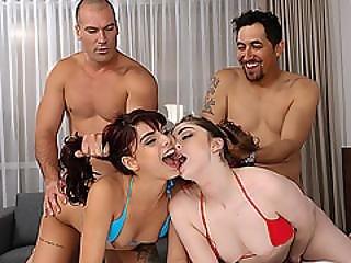Cute Hot Chick Kobi Brian Wanted To Fuck Hard Massive Dick