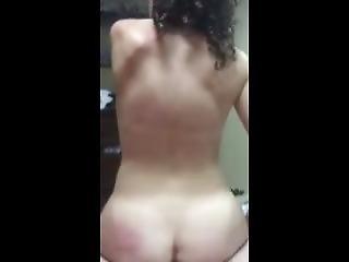 Homemade: Big Ass White Girl Rides Dick Hard