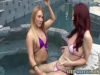 Steples Eats Teen Pussy