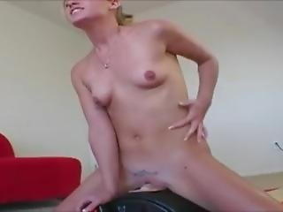 Allison Pierce Rides A Sybian
