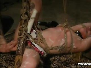 Intense Bdsm Action With Toys Wax Spanking And Wet Orgasms