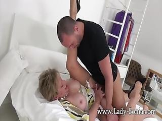 Spanish Fly In Lady Sonia%27s Tea Gets Her Horny As Fuck