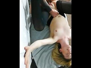Public Snapchat Story Sexy Slut Sensually Sucks Sloppy Cock
