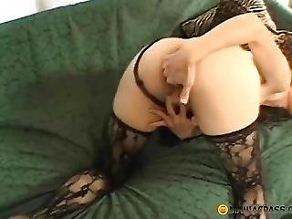 Brunette Has Sex With A Guy Sucking His Dick