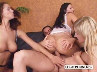 Cum On Tits After Stack-fucking 3 Hot Babes Ts-4-03