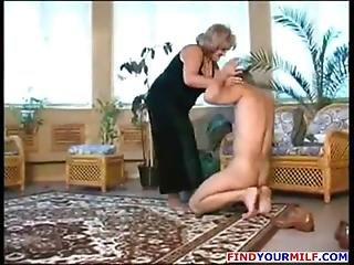 Domination, Femdom, Fetish, Lick, Mature, Mistress, Mother, Russian, Slave