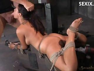 Sexix.net - 16664-english Rose Ava Dalush Bound Down On Fucking Machine Brutal Drooling Deepthroat Multiple Orgasms