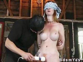 19yo petite blindfold bondage slut sperm gang bang 10