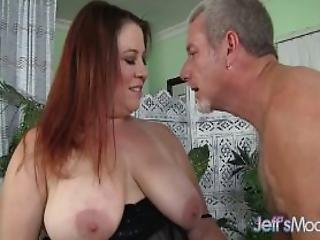 Fat Milf Rubee Gets Her Plump Pussy Filled