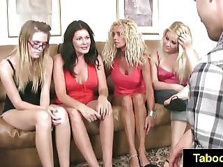 Fetishnetwork Four Girls Footjob Buffet