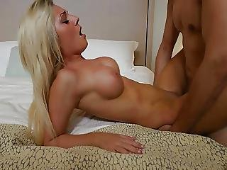 Blonde Teen Bends Over For The Cock
